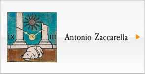Antonio Zaccarella アントニオ・ザッカレラ 情熱の国・イタリアから届いたアート作品、掛け時計・置き時計