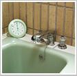 浴室・風呂場に飾るオススメの掛け時計、置き時計、デジタル時計