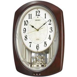 SEIKO セイコー 電波からくり掛け時計 ウェーブシンフォニー【AM239H】