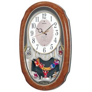 SEIKO セイコー 電波からくり掛け時計 ウェーブシンフォニー【AM213H】