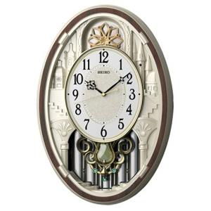 SEIKO セイコー 電波からくり掛け時計 【AM255B】