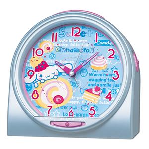 SEIKO セイコー キャラクター 目覚まし時計 シナモロール CQ135L