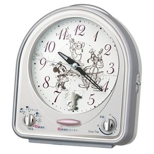 SEIKO セイコー ディズニーキャラクター目覚まし時計 ミッキーフレンズ【FD464S】