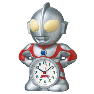 SEIKO セイコー ウルトラマンキャラクター目覚まし時計 【JF336A】