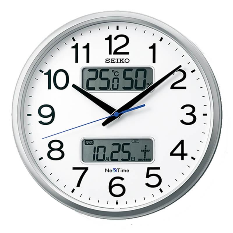 e8f61c9413 セイコー seiko ネクスタイム nextime 湿度・温度 カレンダー グリーン購入法適合商品 Bluetooth スマホ ...