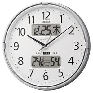 CITIZEN シチズン 環境目安表示機能付電波掛け時計 インフォームナビF【4fy618019】