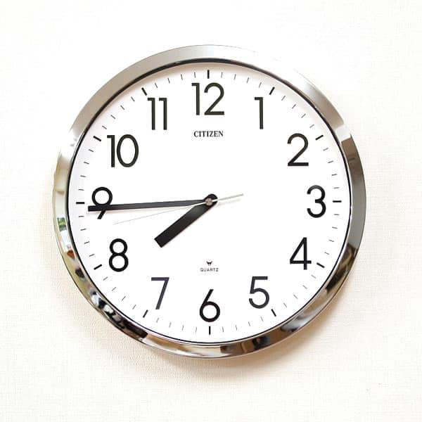 CITIZEN シチズン 防湿・防塵掛け時計 スペイシーM522【4MG522-050】
