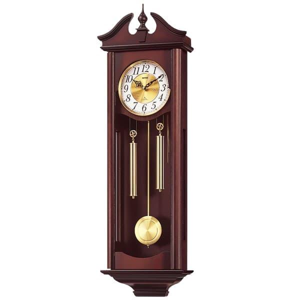 RHYTHM リズム 報時付き 掛け時計 キャロラインR 4MJ742RH06