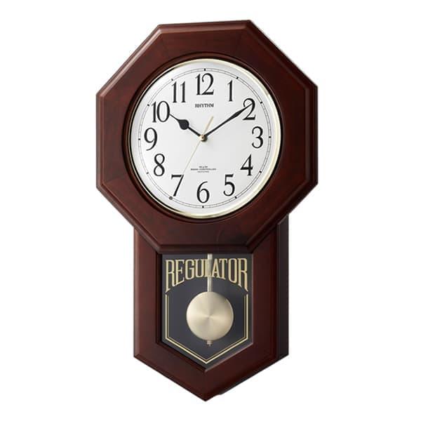 RHYTHM リズム 報時付き 電波 掛け時計 モーランドR 4MNA06RH06