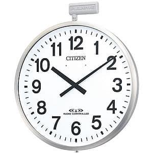 CITIZE/シチズン 10年電池式・屋外用電波壁掛け時計パルウェーブ 4MY611B19  57cm