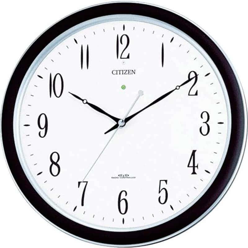 CITIZEN シチズン 強化防滴・防塵電波掛け時計 ネムリーナM691F【4my691-n19】