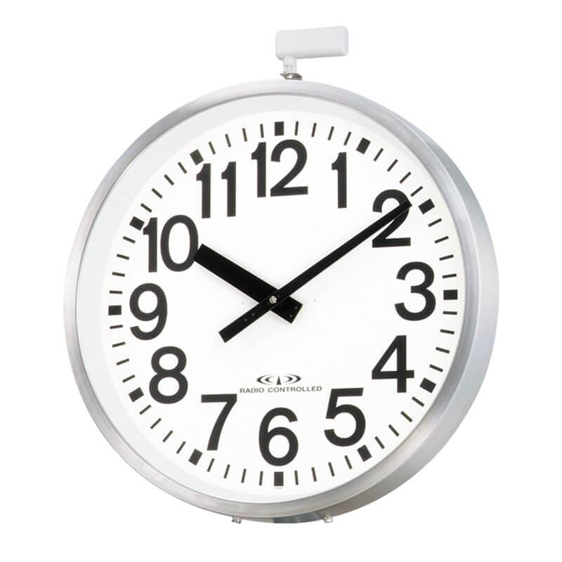 CITIZE シチズン 10年電池式・屋外用電波壁掛け時計 エリア700N 4MY698-A19 70cm