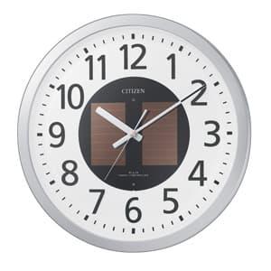 CITIZEN シチズン ソーラー電波掛け時計エコライフM815【4my815019】 35cm