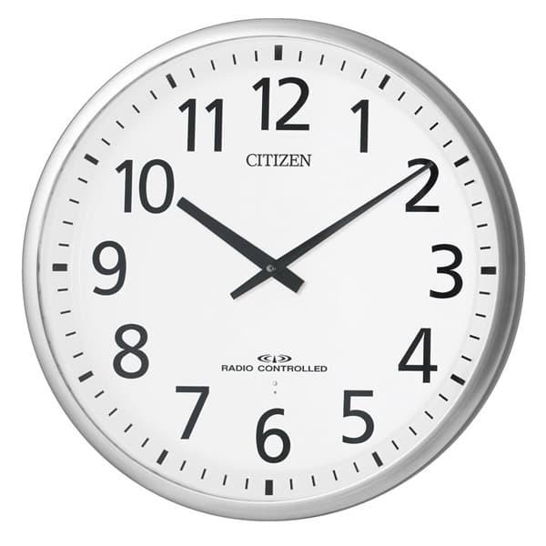 CITIZEN シチズン 電波掛け時計 スリーウェイブM821【4my821019】 55cm