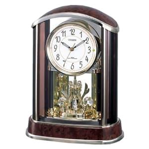 CITIZEN シチズン 電波置時計 パルアモールR658N【4RY658-N23】