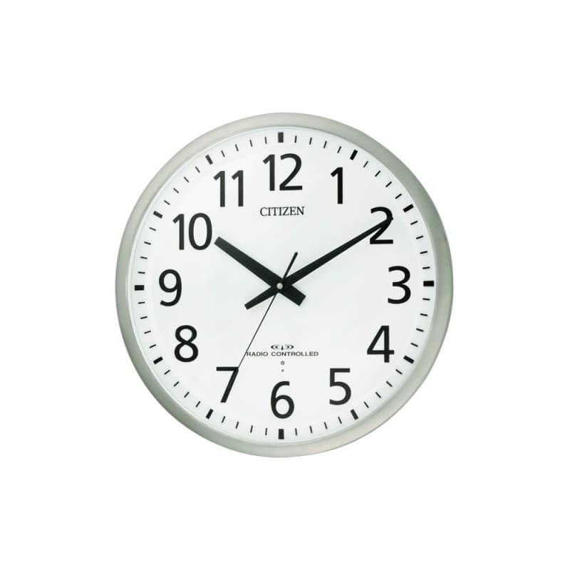 CITIZEN シチズン 電波掛け時計 スペイシーM463【8my463019】 45cm