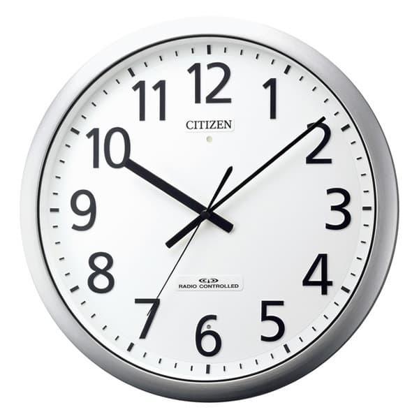 CITIZEN シチズン 強化防滴・防塵電波掛け時計 パルフィス484【8my484019】 38cm
