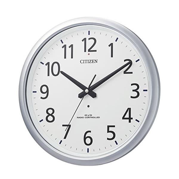 CITIZEN シチズン 防湿・防塵電波掛け時計 スペイシーアクア493【8MY493-019】