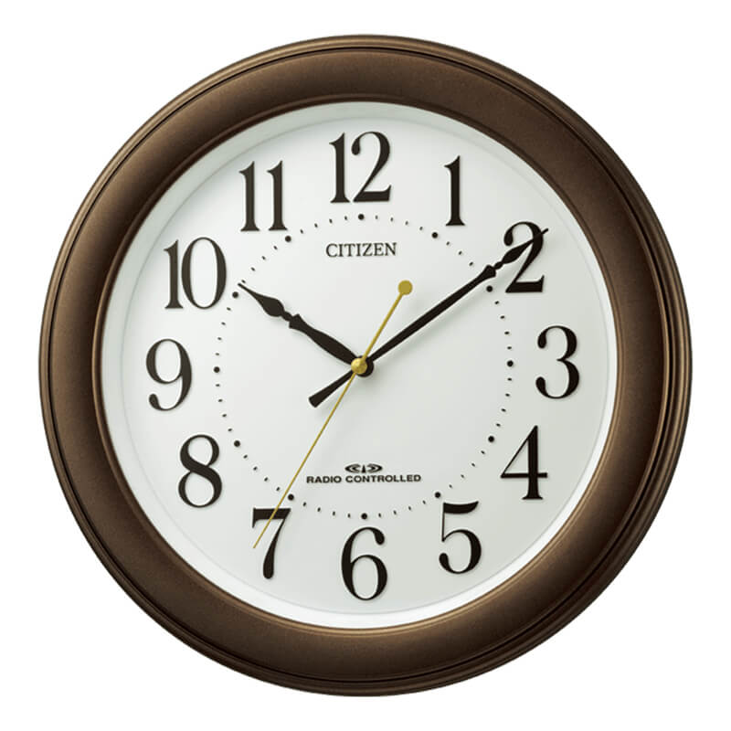 CITIZEN シチズン 電波掛け時計 8MY509-006 8MY509006