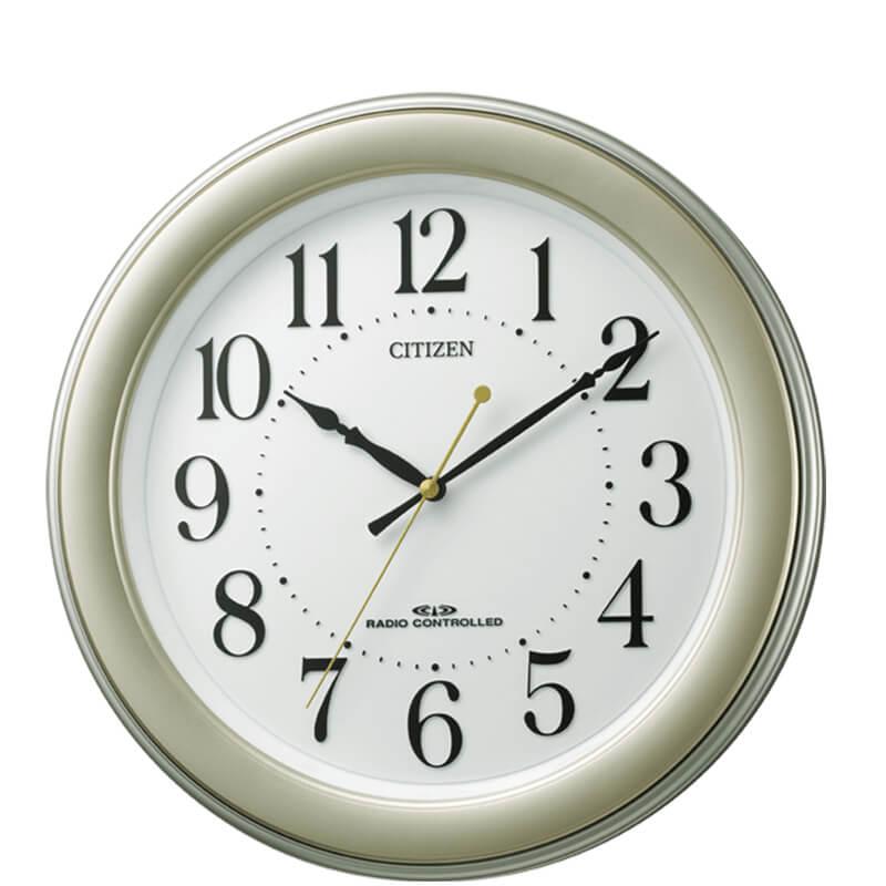 CITIZEN シチズン 電波掛け時計 8MY509-018 8MY509018