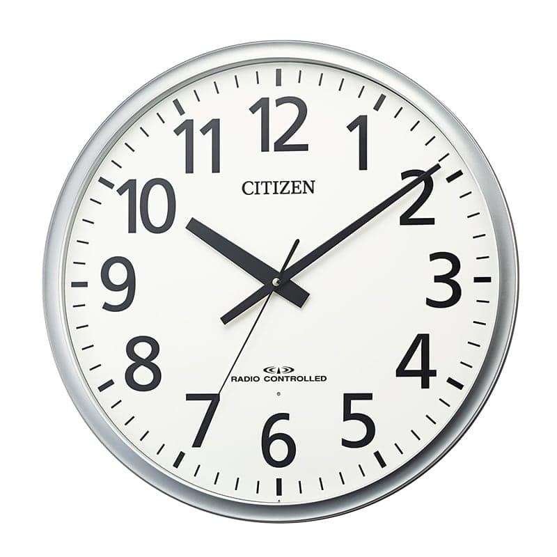 CITIZEN シチズン オフィス向け 電波 掛け時計 8MY547-019 50cm