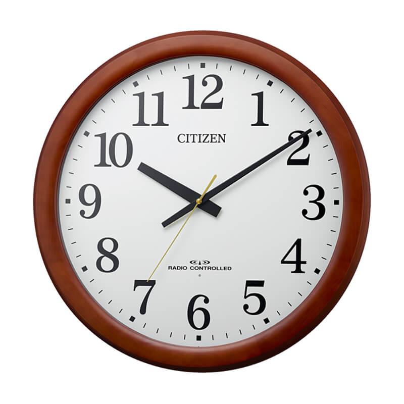 リズム シチズン クロック 電波  掛け時計 8MY548006