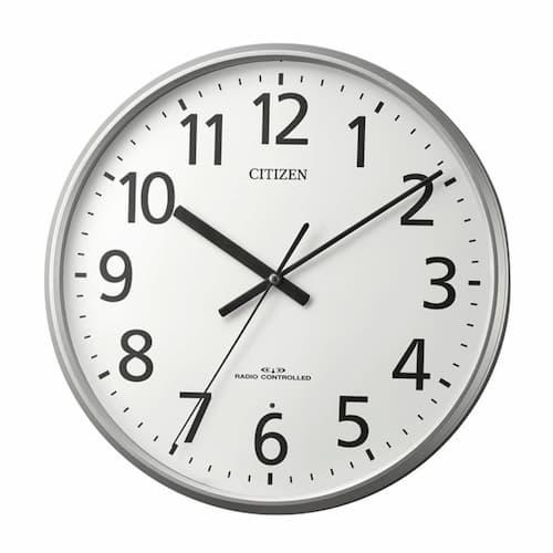 CITIZEN シチズン オフィスタイプ 電波掛け時計【8MYA39-019】 36cm