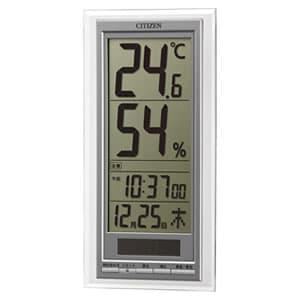 シチズン CITIZEN 温湿度計 ライフナビD204A【8RD204-A19】