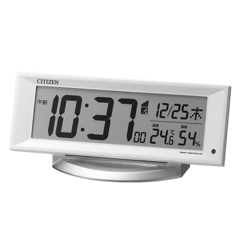 CITIZEN シチズン デジタル 電波 置き時計  8RZ202-003