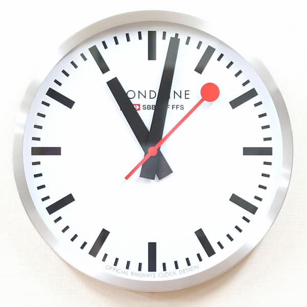 MONDAINE モンディーン 掛け時計 A995.CLOCK.16SBB 40cm