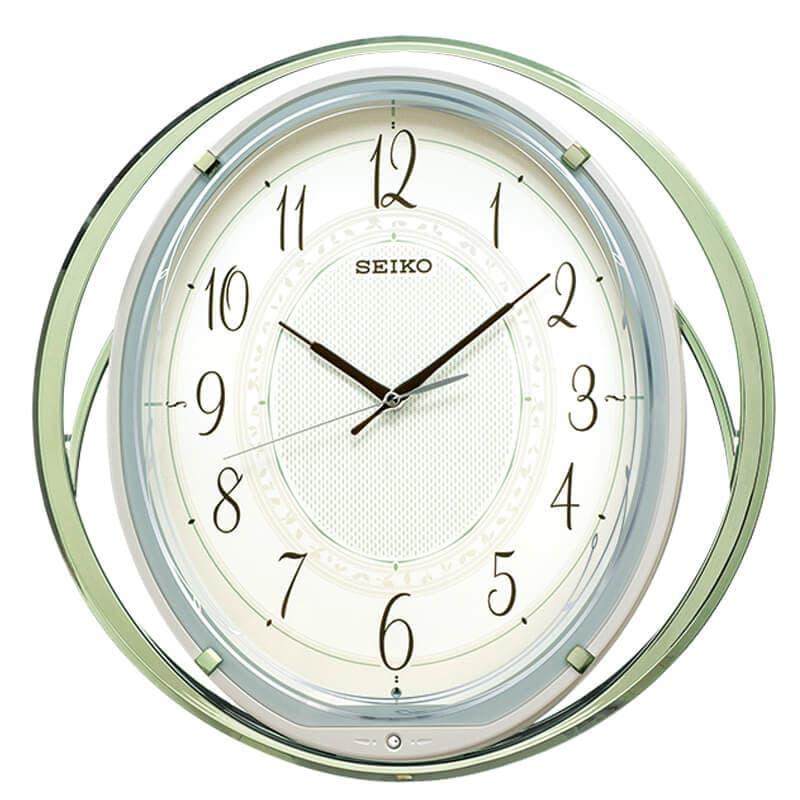 SEIKO セイコー 振り子 電波掛け時計 AM262M 38cm