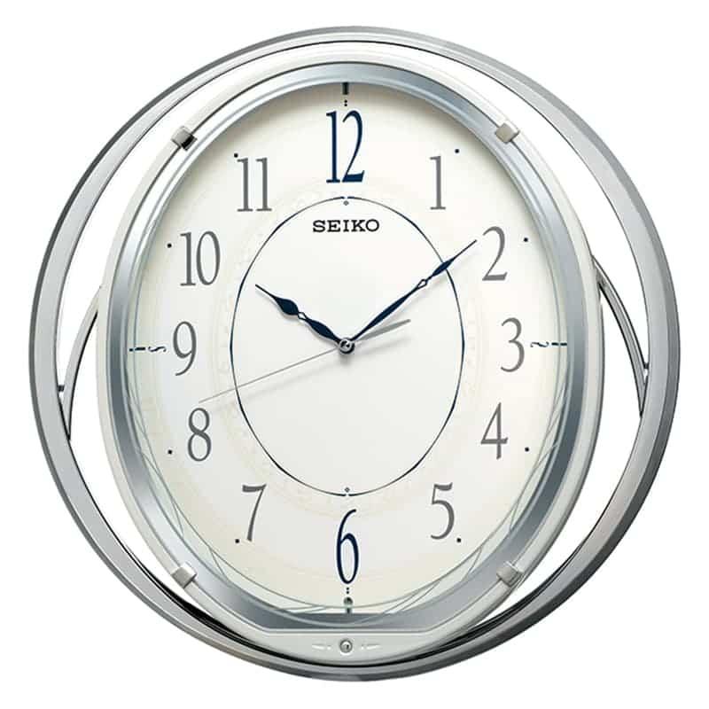 SEIKO セイコー 振り子 電波掛け時計 AM262W 38cm
