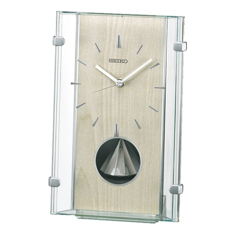 SEIKO セイコー 回転飾り付 電波置き時計 BY240M