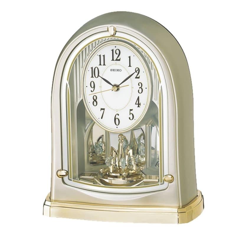 SEIKO セイコー 回転飾り付 電波置き時計 BY241G