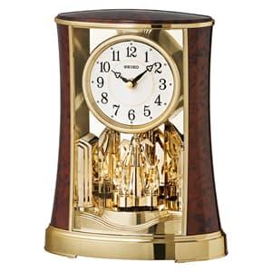 SEIKO セイコー クオーツ置き時計【BY427B】
