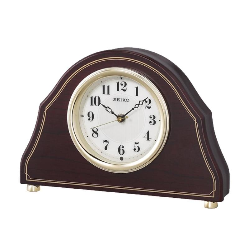 SEIKO セイコー 木枠 電波置き時計 BZ239B