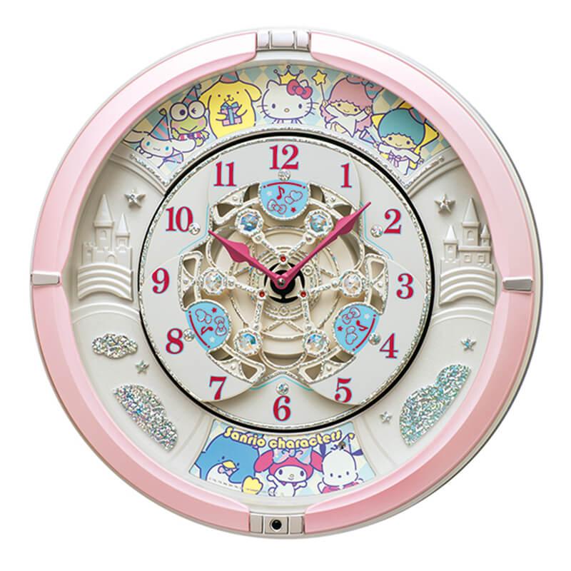 SEIKO セイコー サンリオ キャラクターからくり掛け時計【CQ222P】 39cm