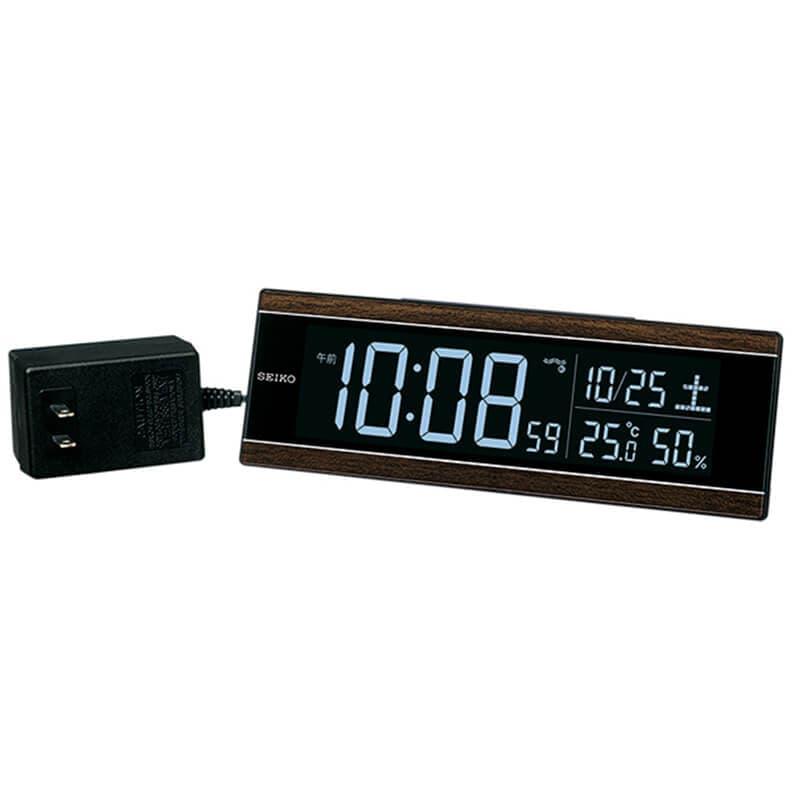 SEIKO セイコー アラーム付 デジタル電波置き時計 シリーズC3 DL306B
