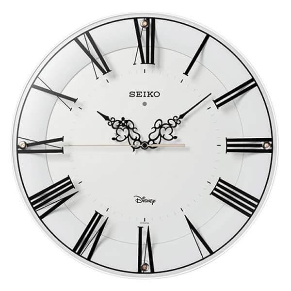 SEIKO セイコー ディズニーキャラクター 電波 掛け時計 ミッキー&ミニー FS506W