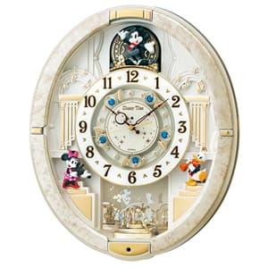 SEIKO セイコー ディズニーキャラクター電波からくり掛け時計 ミッキーマウス【FW580W】