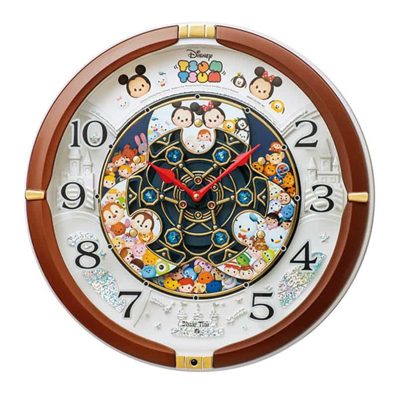 SEIKO セイコー ディズニー ツムツム キャラクターからくり掛け時計【FW588B】 39cm