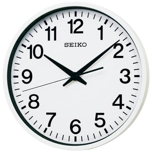 SEIKO/セイコー 防滴・防塵衛星電波掛け時計 【GP201W】 45cm