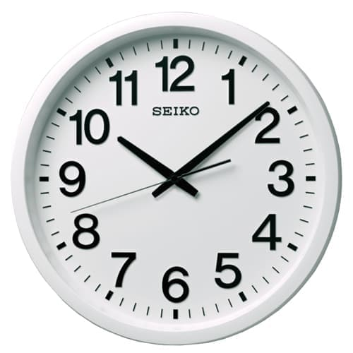 SEIKO/セイコー 衛星電波掛け時計 【GP202W】 39cm