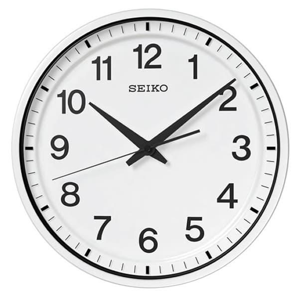 SEIKO セイコー 衛星電波 掛け時計 GP214W 35cm