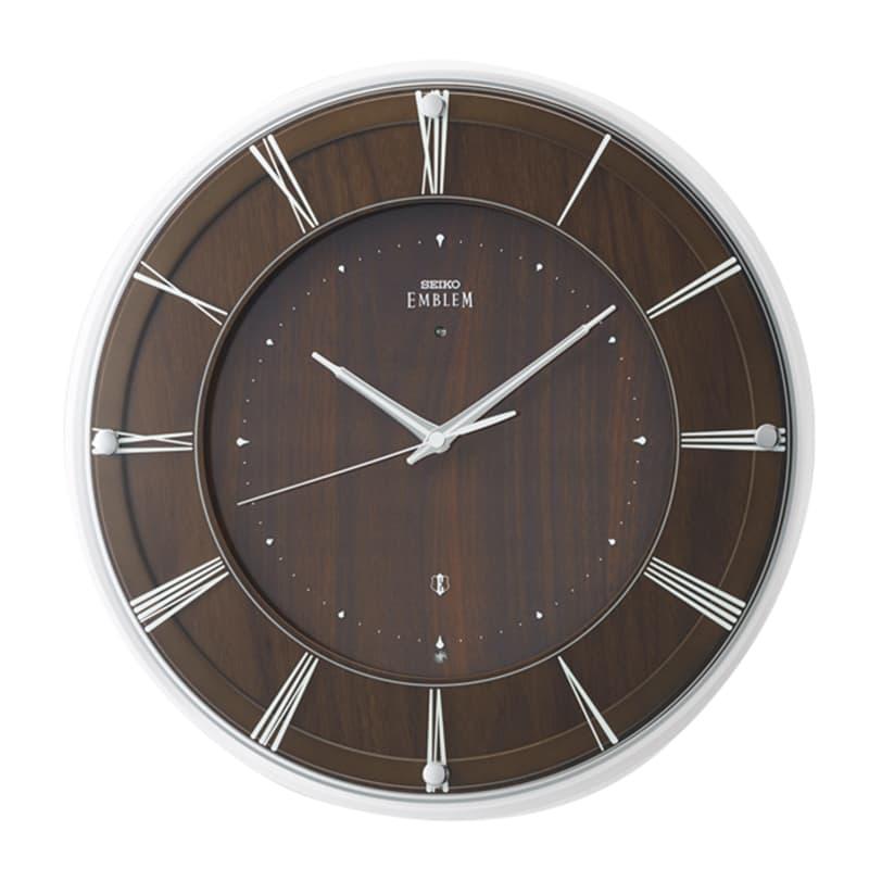 SEIKO セイコー スタンダード 電波掛け時計 木枠 HS558A 36cm