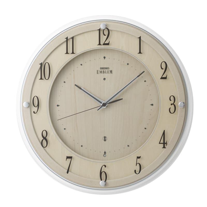 SEIKO セイコー スタンダード 電波掛け時計 木枠 HS558B 36cm