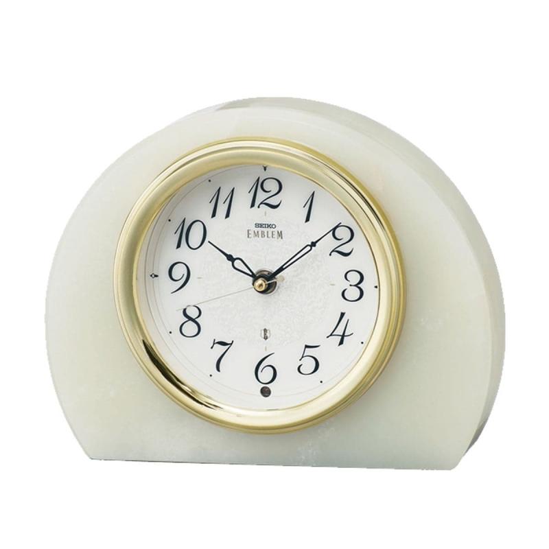 SEIKO EMBLEM(セイコー エムブレム)電波置き時計 オニキス・クロック HW594M