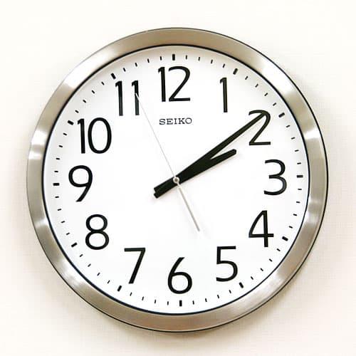 SEIKO セイコー 防湿・防塵クロック【グリーン購入法適応商品】【KH406S】掛け時計 38cm