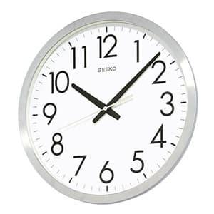 SEIKO セイコー 掛け時計【グリーン購入法適応商品】【KH409S】 掛け時計 35cm
