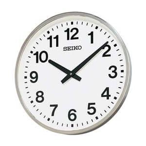 SEIKO セイコー 屋外用防雨型掛け時計【グリーン購入法適応商品】【KH411S】 45cm